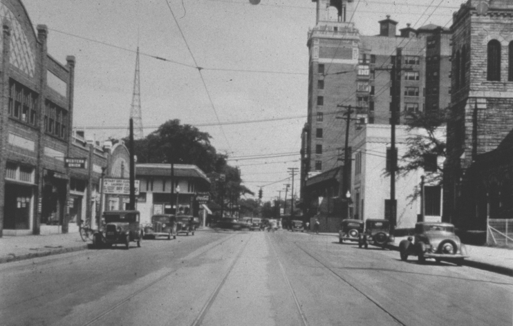 ptree north ave 1940